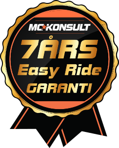 7 års garanti med Easy ride
