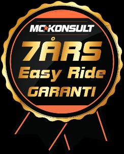 7 års garanti Easy ride